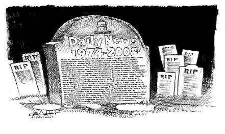 deadder-daily news closes