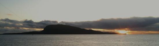 Faroese sunrise