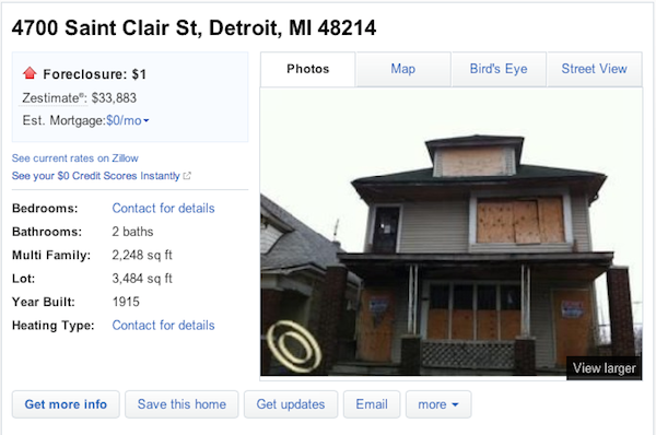 Detroit House for sale