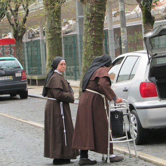 Nun's Habits in Lisbon