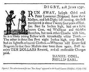Runaway Slave Ad - small
