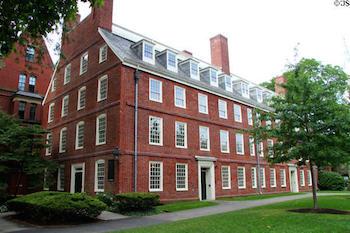 Harvard's Massachusetts Hall (1818)
