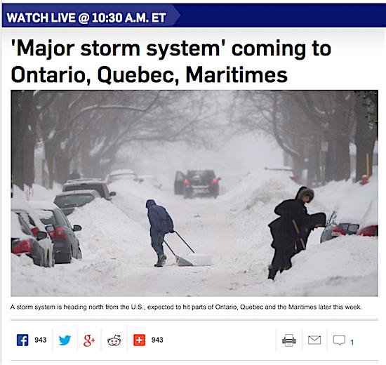 Weather-warning