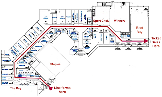 Mayflower-Mall-Map