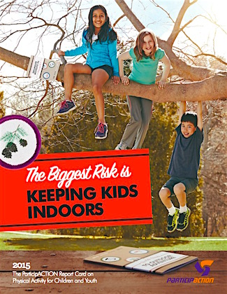 Kids are safer outdoors