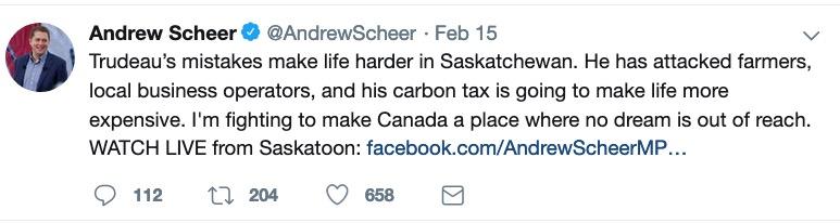 Andrew Scheer goes to Windsor
